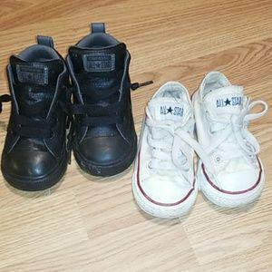 Baby boy converse size 6